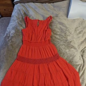 Lily Rose Dresses - Lily Rose size medium coral red sundress